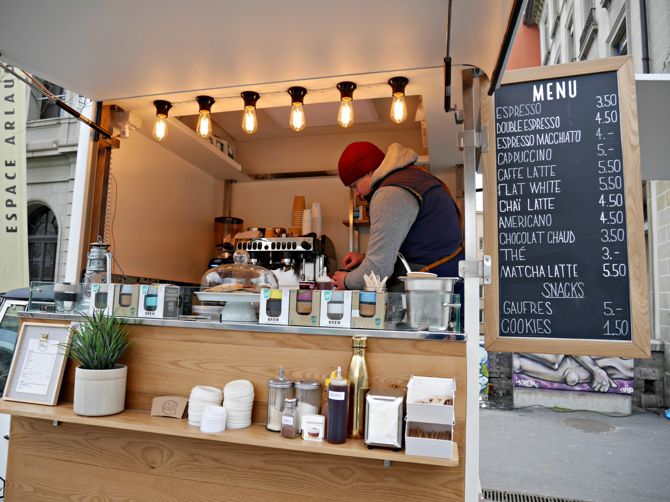 Rush Coffee Co Parks Its Mobile In Place De La Riponne Every Tuesday And Thursday We Must Say Couldnt Be More Ecstatic To See An Increase