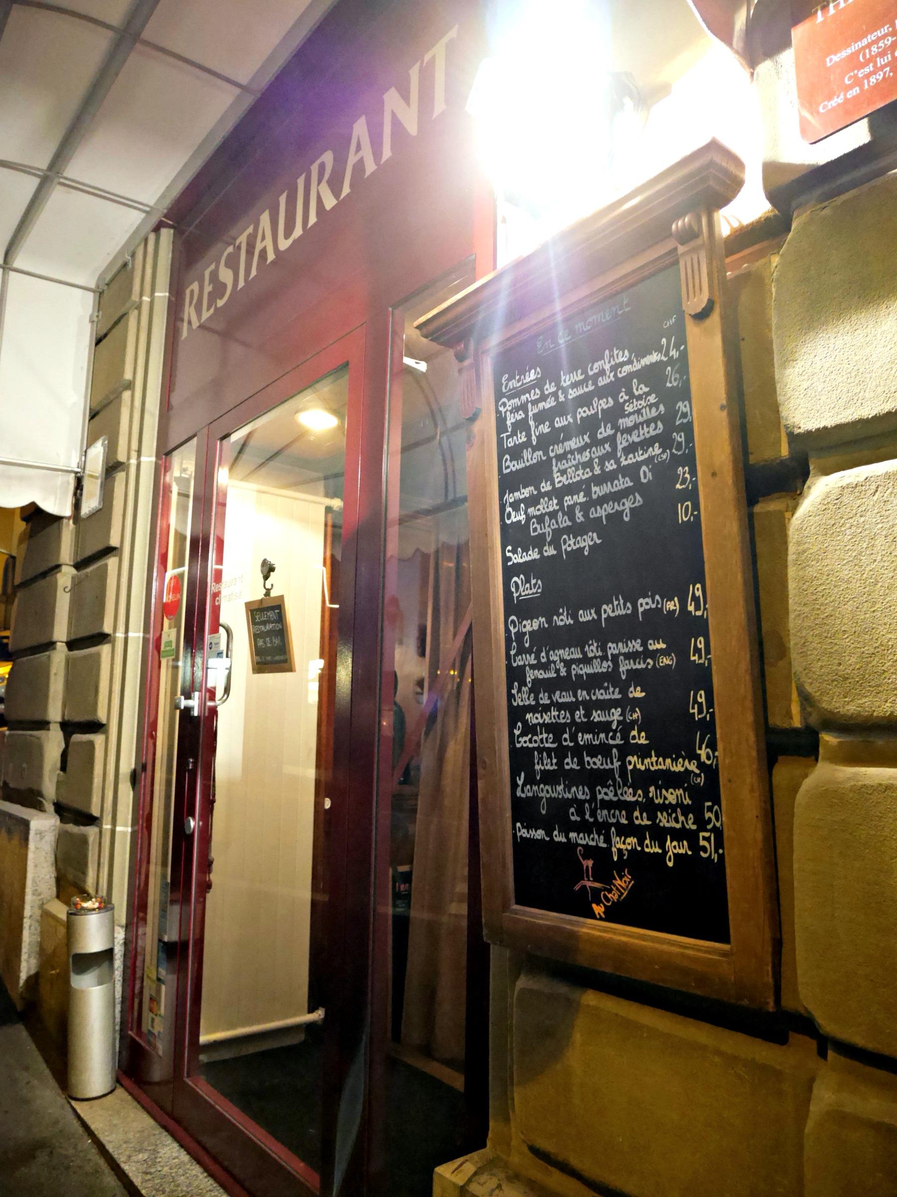 Au Chat Noir The Lausanne Guide